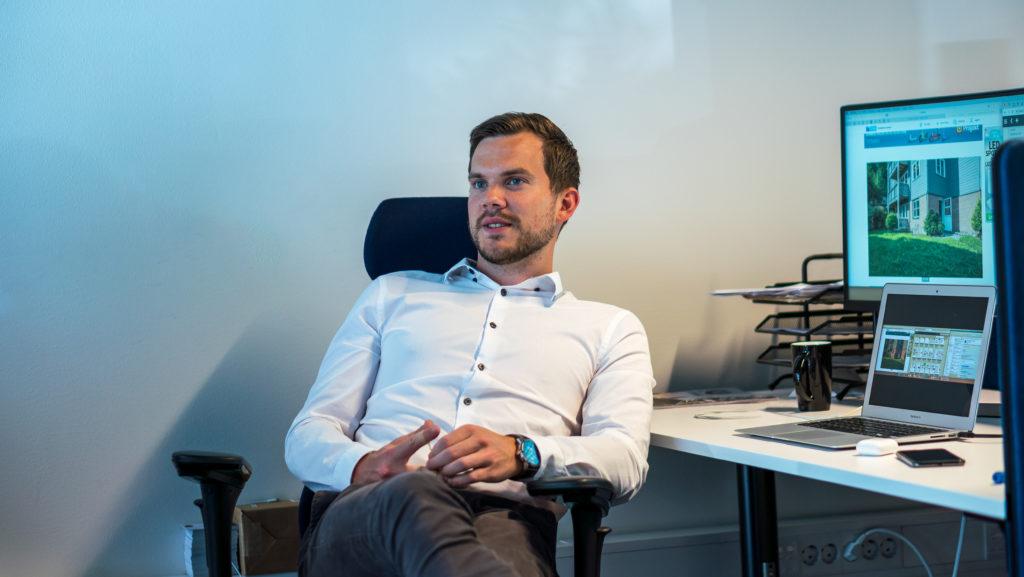 Vi tar temperaturen på boligmarkedet. – Ole Jonny Klopstad Holsen